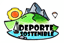 Logo deporte sostenible